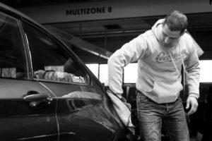 Benoît Dossche, Cocoon Car, Wallonie 2018.