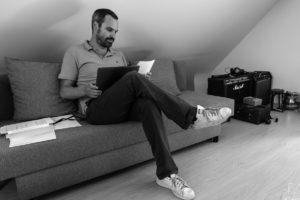 Maxime Gaudissart, MG Legal Consult, Portrait en situation, Waterloo 2018.