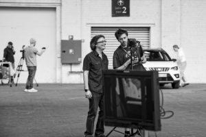 Portrait de Nicolas Olivier, Cactus Audiovisual, Tour & Taxis, Bruxelles, 2018