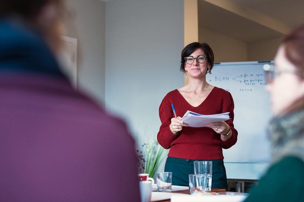 Atelier de planification, Delphine Boileau-Terrien, Femmes de Challenges, Portrait d'entrepreneur.
