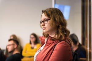 Les soirées du Mentorat à l'IEE 25-10-2018, Aurore Delsoir photographe d'entreprise