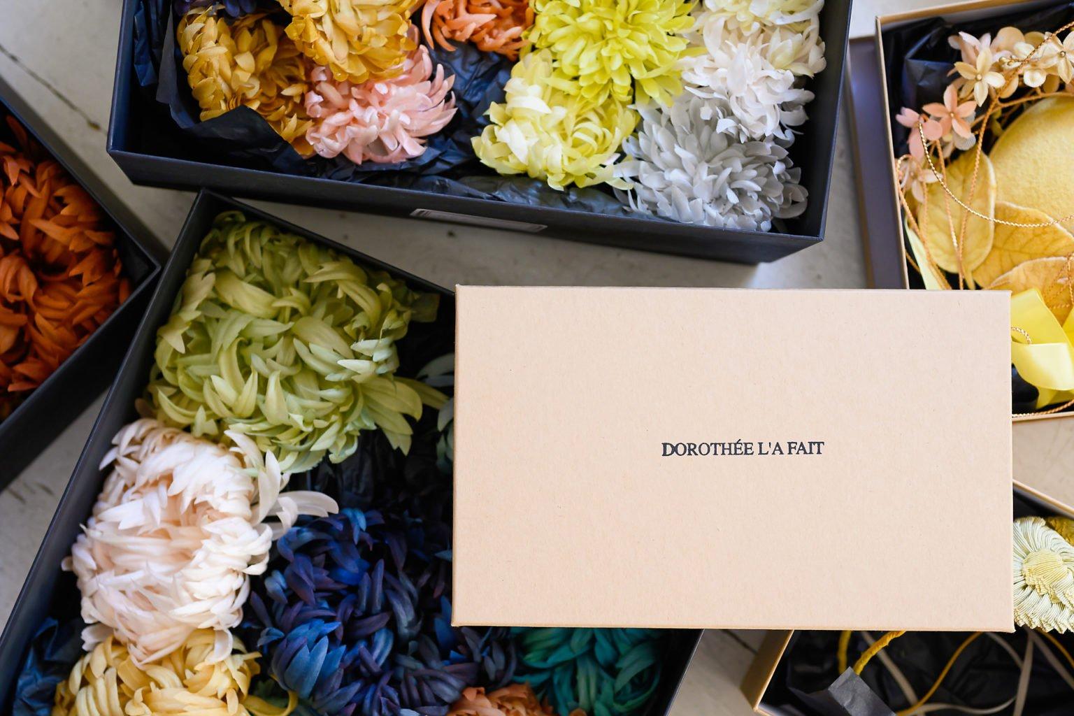 Fleurs en tissu par Dorothée l'a fait, portrait d'entrepreneur par Aurore Delsoir photographe d'entreprise à Bruxelles et en Wallonie