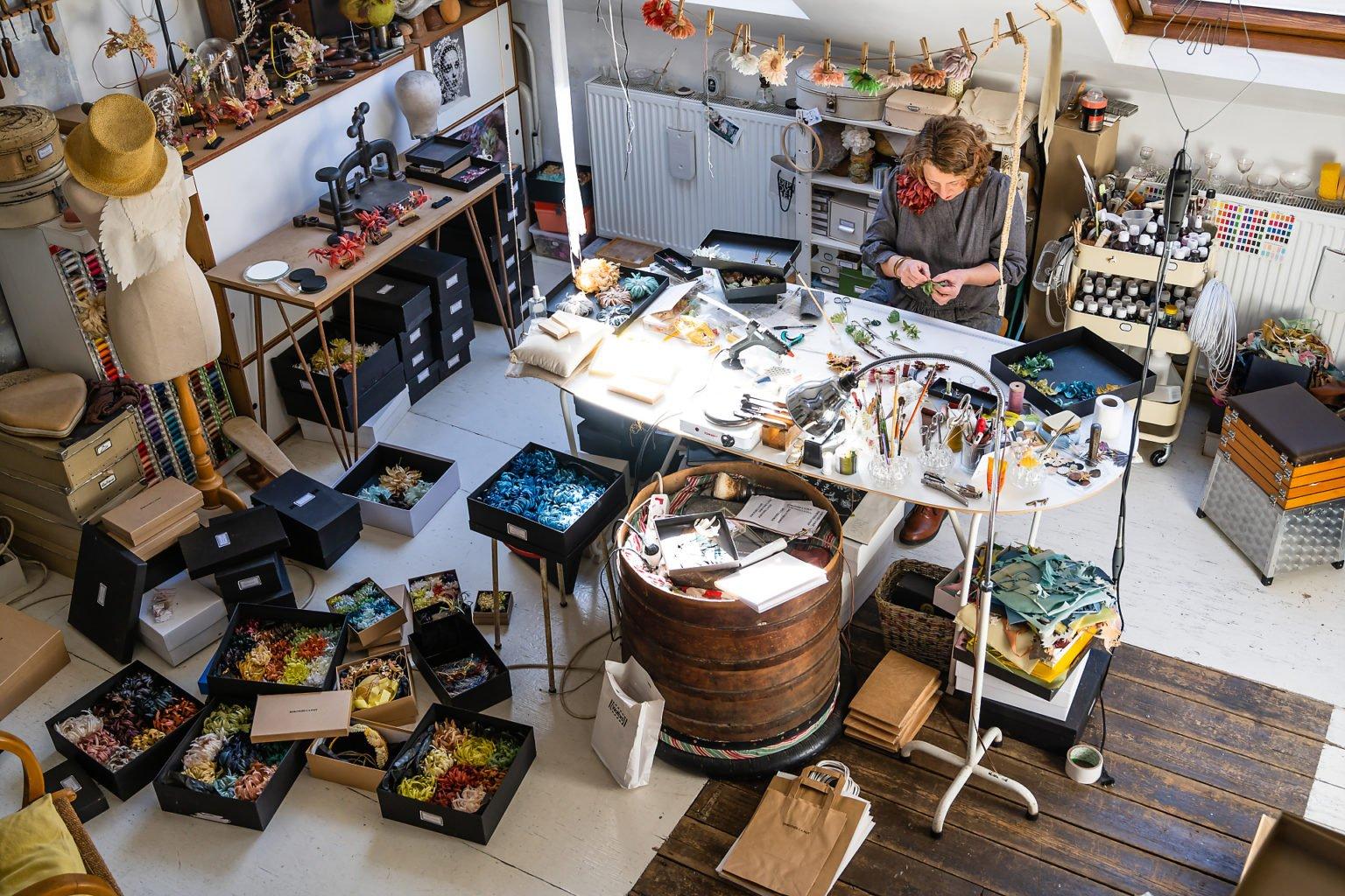 L'atelier de Dorothée l'a fait, Bruxelles, 2019, Aurore Delsoir, photographe d'entreprise