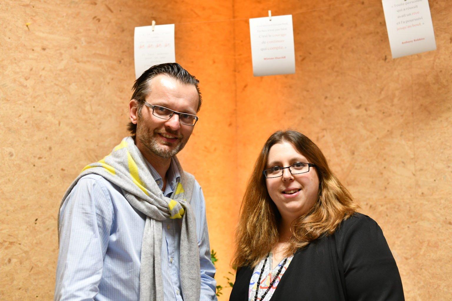 Caroline Duchêne et Quentin de Crayencour, Espace Co'Din_Inauguration_28-03-2019, Aurore Delsoir Photographe d'entreprise