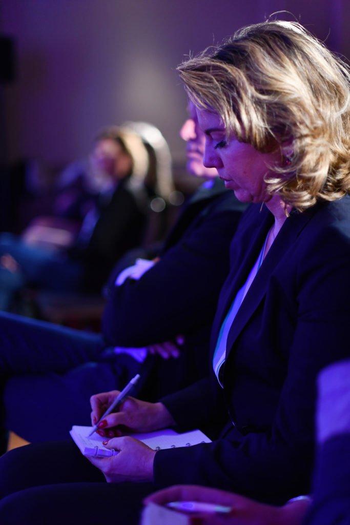 Prise de notes à la Nuit des Entrepreneurs Inspirants, Namur 2019