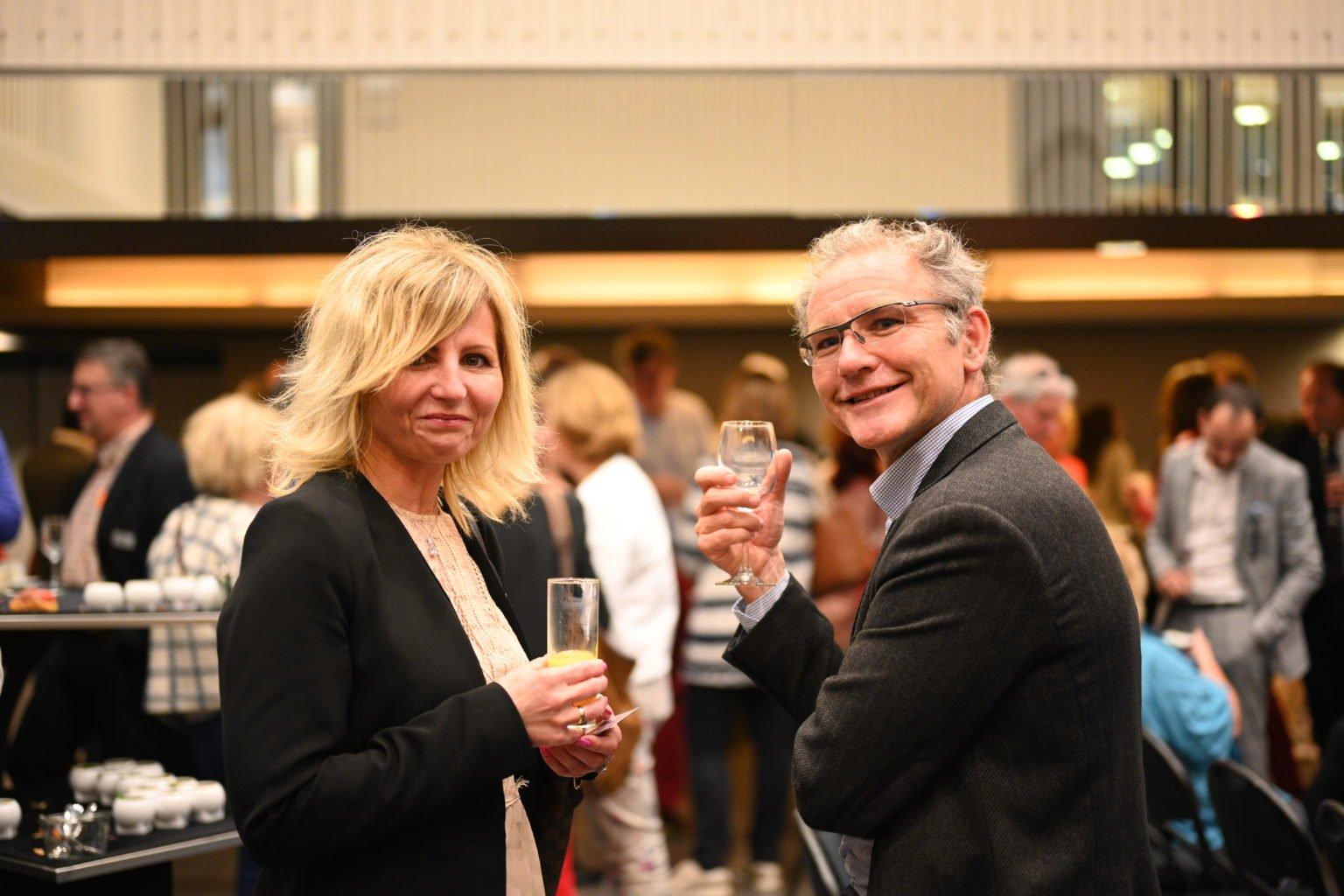 Soirée networking, Conférence à propos du CBTC, par le Rotary Club de Louvain-La-Neuve