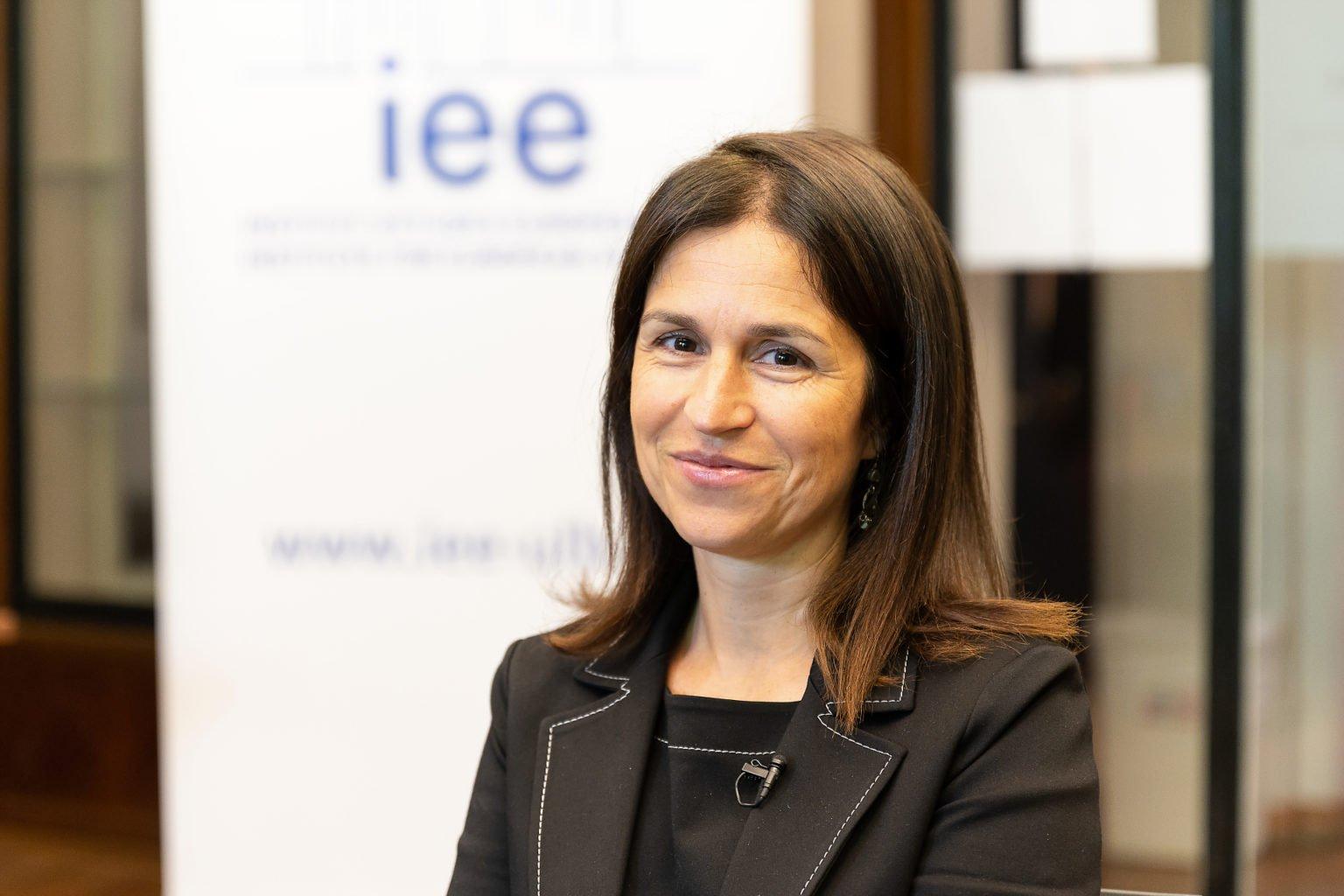 """Anne Weyembergh, Institut d'Etudes Européennes, Conférence Biennale """"L'UE dans les affaires européennes"""", juin 2019. Aurore Delsoir Photographe d'entreprise"""
