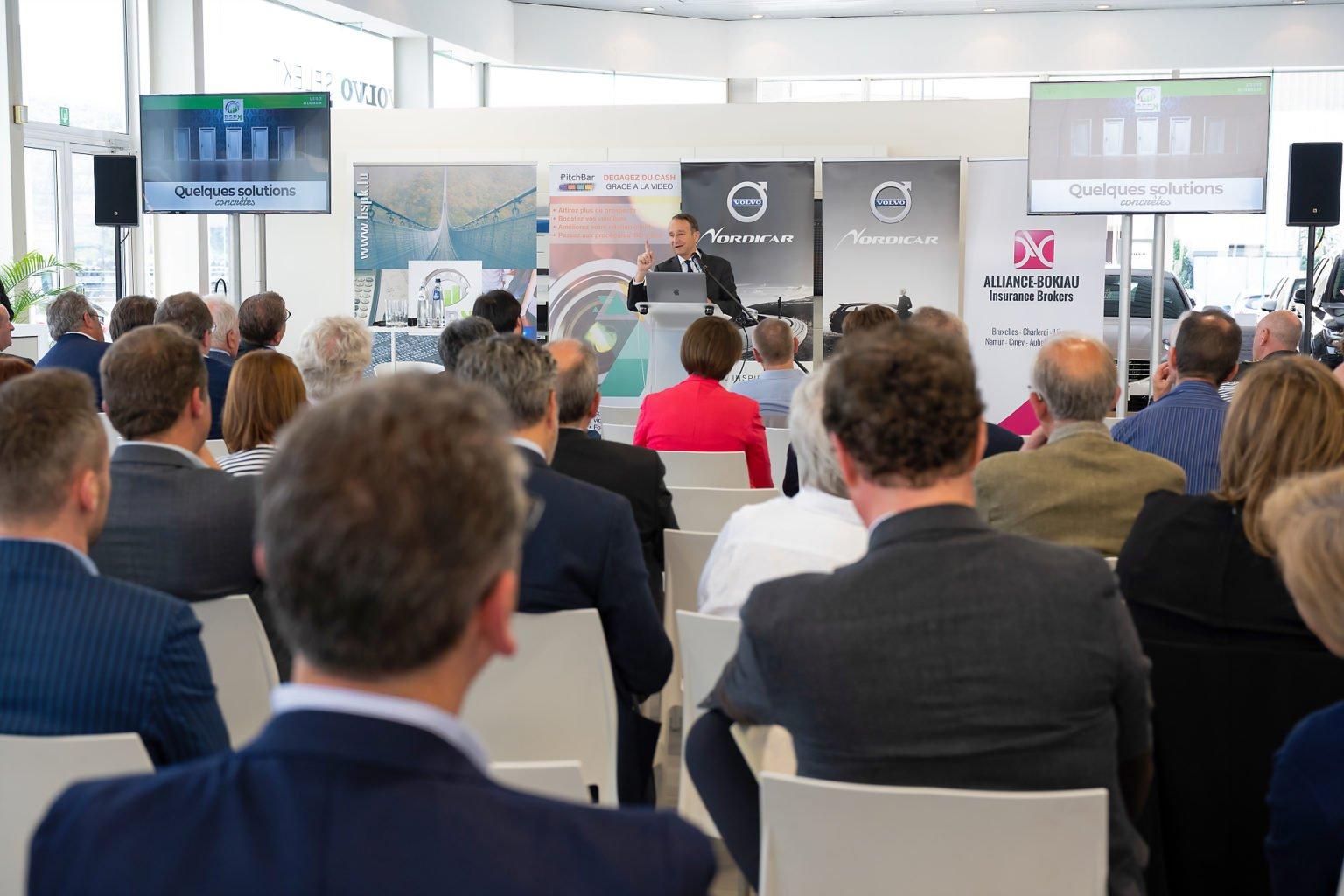 Conférence de Pierre de Villiers, organisée pNordicar, 21-06-2019, par Aurore Delsoir Photographe d'entreprise