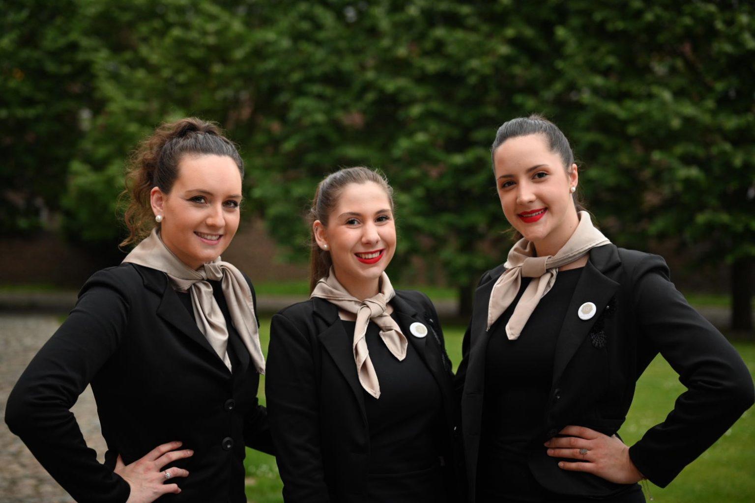 L'équipe des hôtesses de Hostess Factory, Nuit des Entrepreneurs Inspirants, Abbaye de la Ramée, Juin 2019, Aurore Delsoir Photographe
