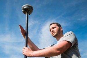 Portrait d'entrepreneur, Sylvain Lamquet-Géolam, géomètre expert par Aurore Delsoir Photographe d'entreprise