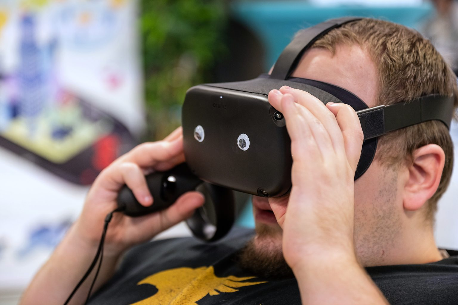 Test de réalité numérique, Kiss You Teacher Game Jam, reportage par Aurore Delsoir photographe événementiel