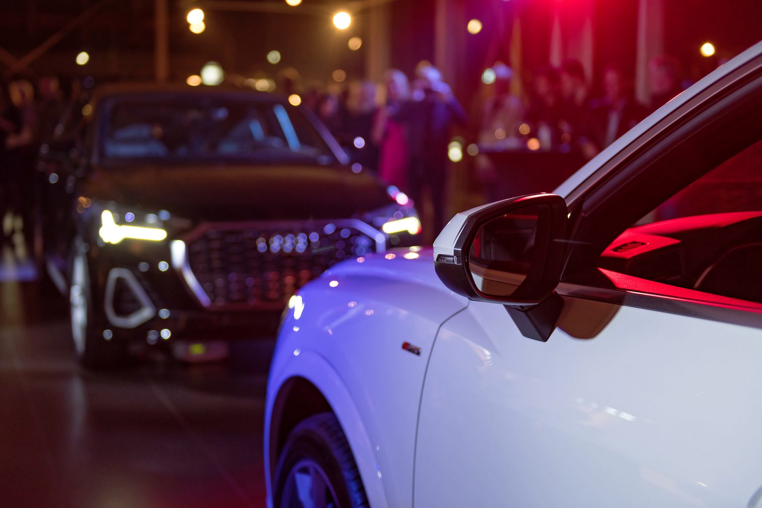 Audi Q3 Sportback lors de l'Audi Night 2019, Audi SAWA Center Waterloo par Aurore Delsoir photographe corporate