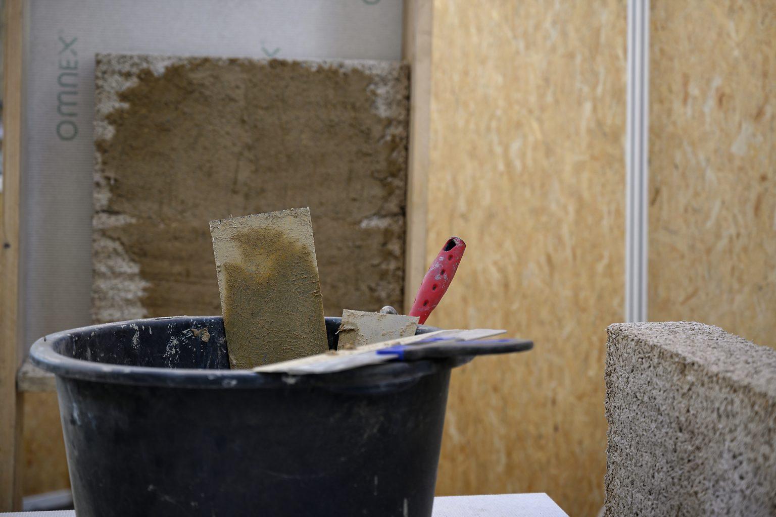 Atelier éco-construction, Salon Bati BW, reportage événementiel par Aurore Delsoir Photographe