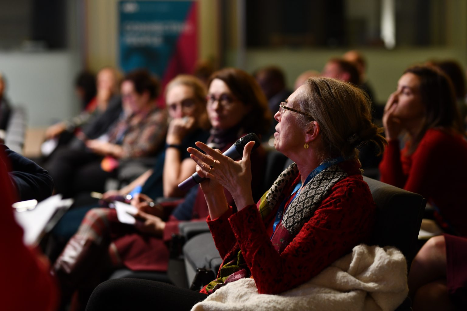 2changes avec le public, Connected Healthcare Debat, EFPIA, 06/11/2019, Aurore delsoir Photographe corporate