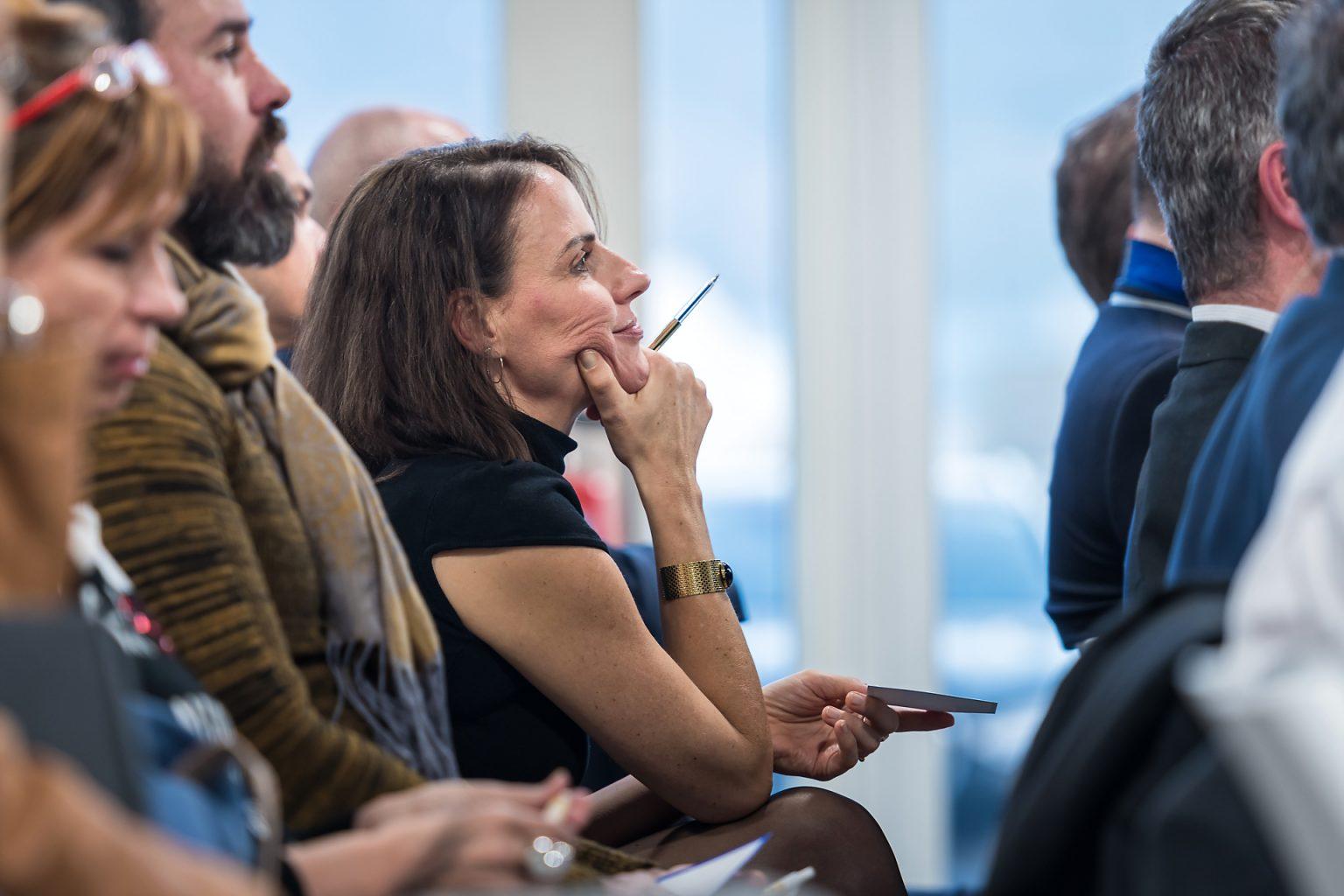 Attention dans le public, Rencontres du manager BSPK, par Aurore Delsoir photographie