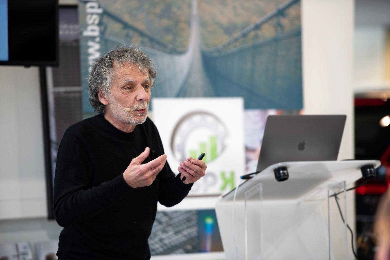 Conférence de William Piccione, Rancontres du manager BSPK, par Aurore Delsoir photographie