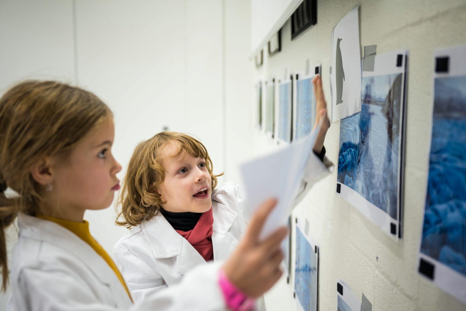 Atelier ludique sur les animaux et leur environnement, Ateliers scientifiques de l'UDEC au Biopark deCharleroi, Aurore Delsoir photographe corporate