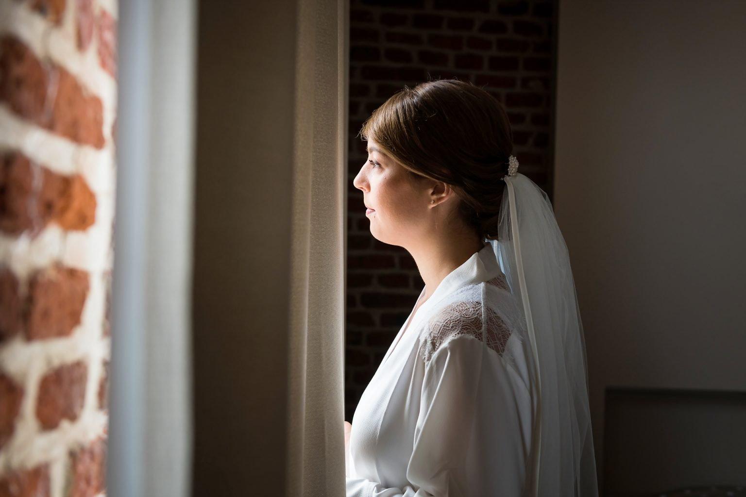 Avant la présentation, Mariage d'Hortense et Jean-Louis par Aurore Delsoir photographie