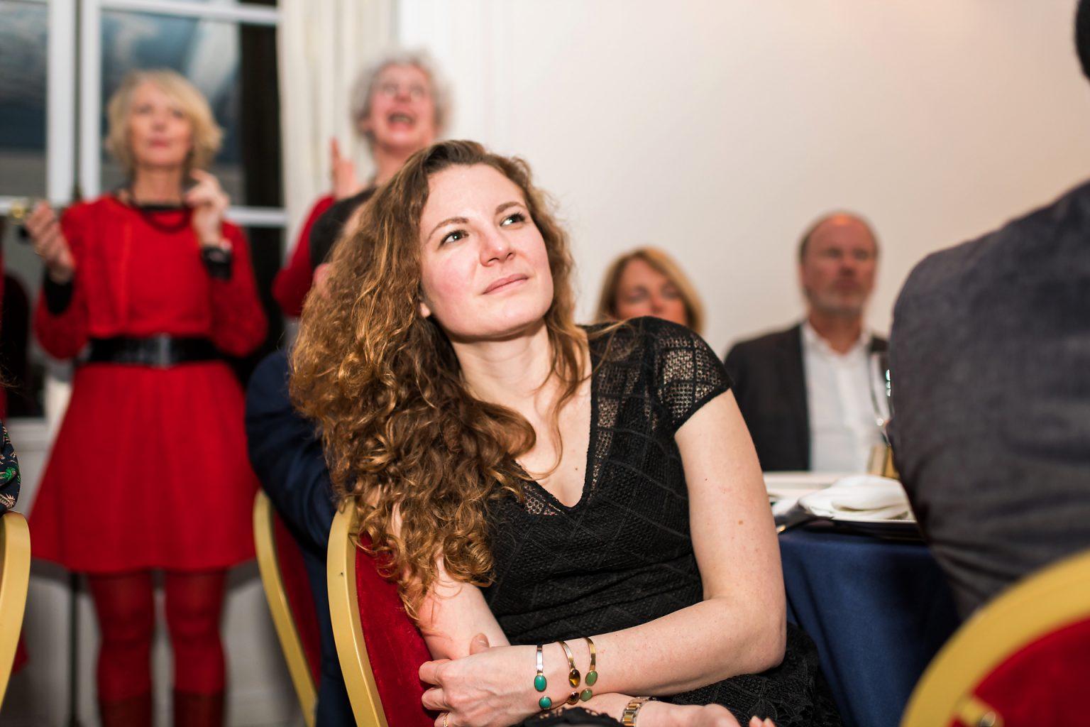 Un public attentif aux 20 ans de Semlex