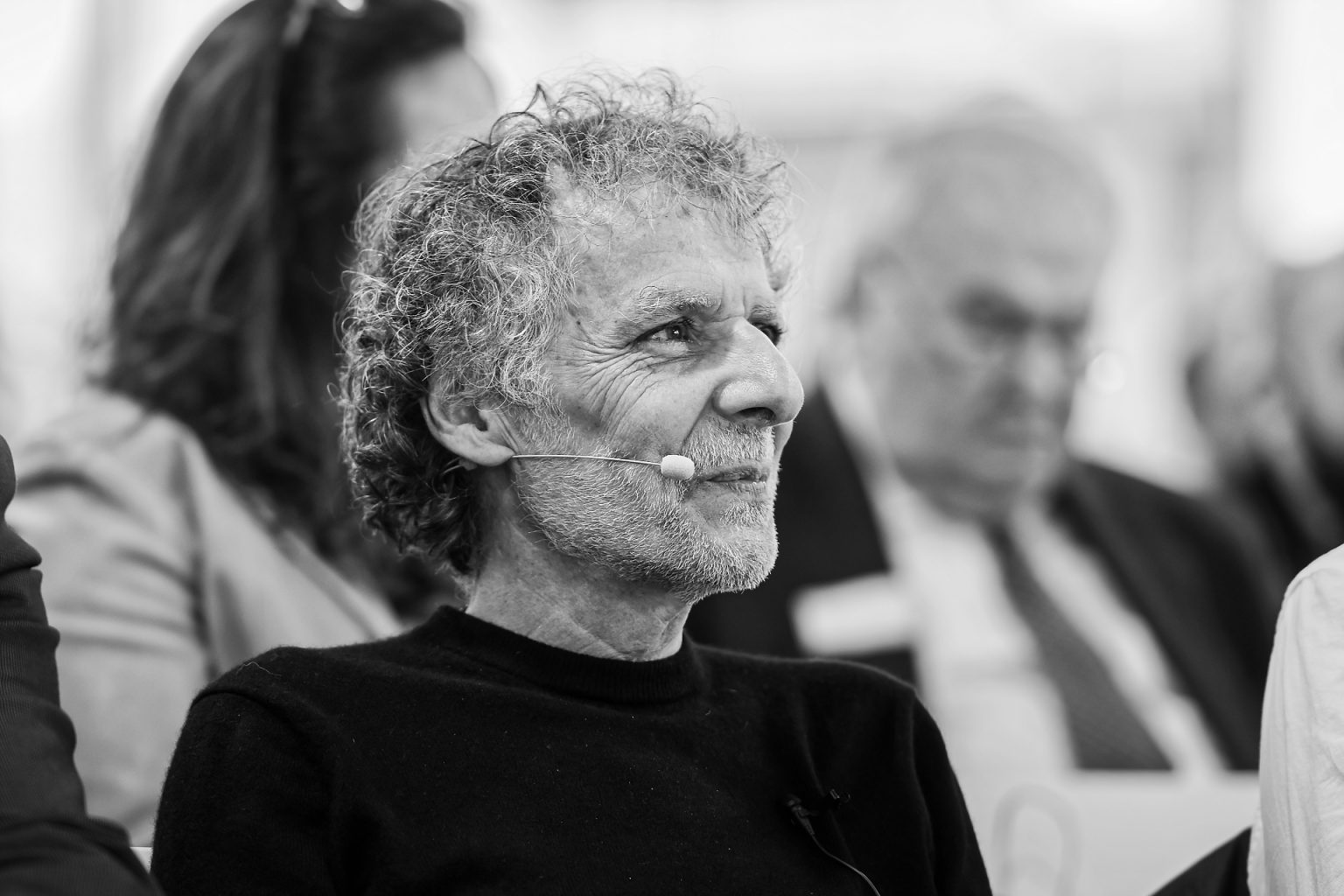 Portrait de William Piccione en conférence,Aurore Delsoir photographe