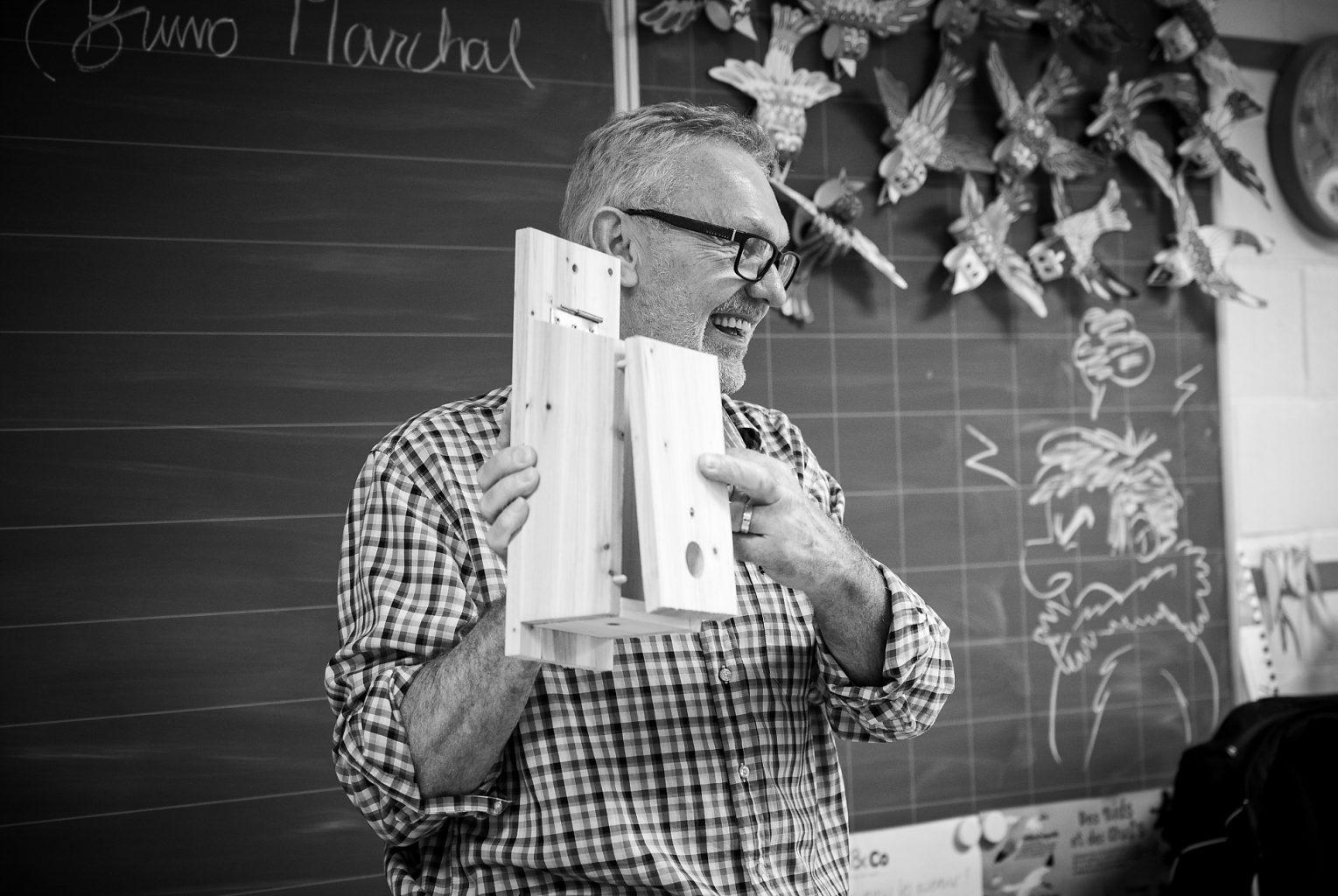 Atelier Nichoir donné par Bruno Marchal, Aurore Delsoir Photographie