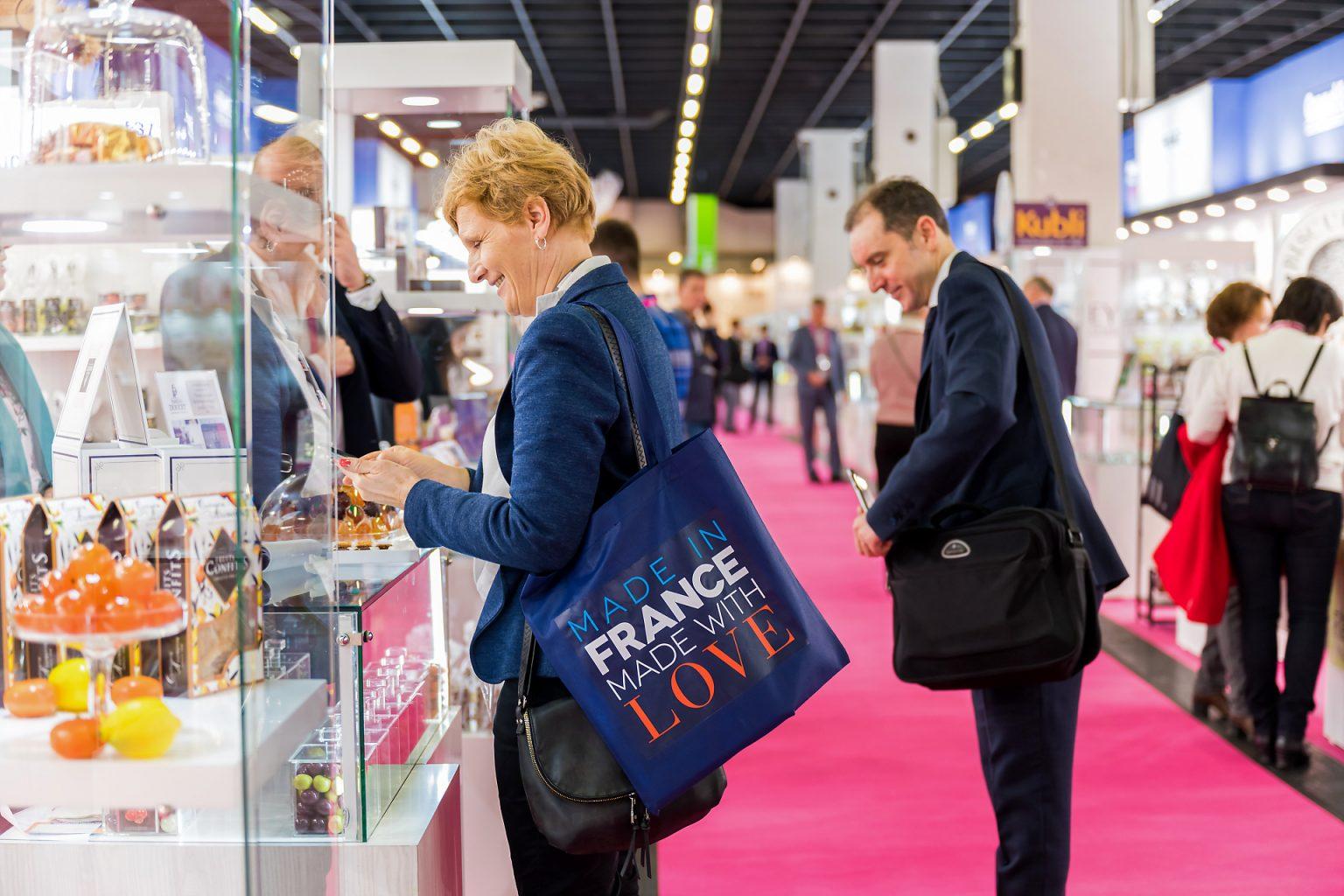 """""""Made in France, Made with Love"""" Salon Mondial de la confiserie et des Snacks 2020 par Aurore Delsoir photographe corporate"""