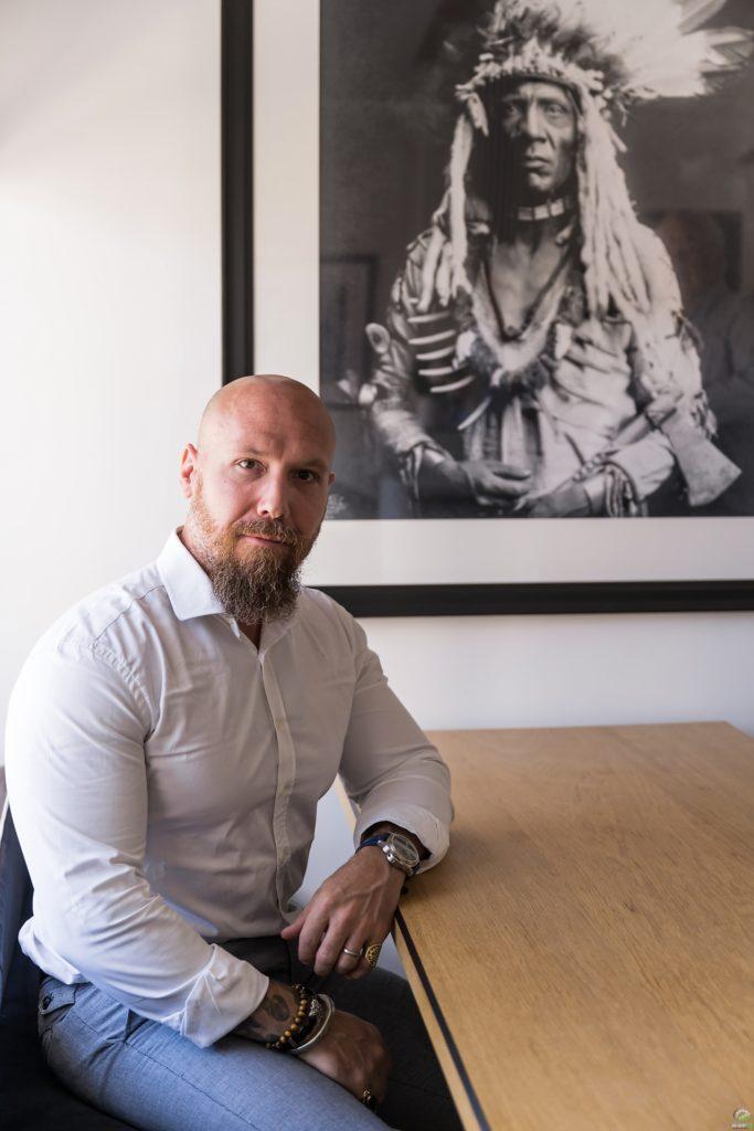 """P. Aton, la conférence de presse BSPK """"Les rencontres du manager 2020"""", par Aurore Delsoir Photographe d'entreprise"""