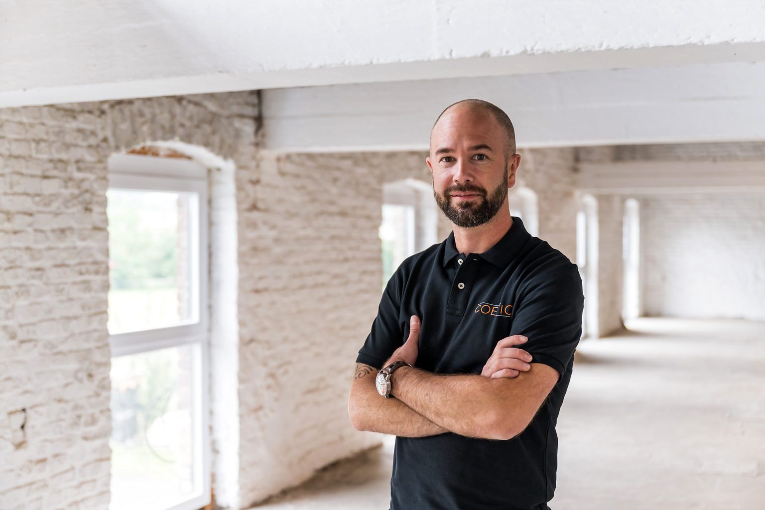 Jean-Philippe Dusauçoit, fondateur de Coezion, AUrore Delsoir photographe