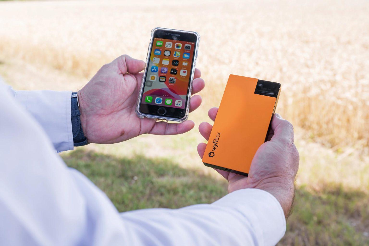 Utiliser la Wyfibox avec son smartphone
