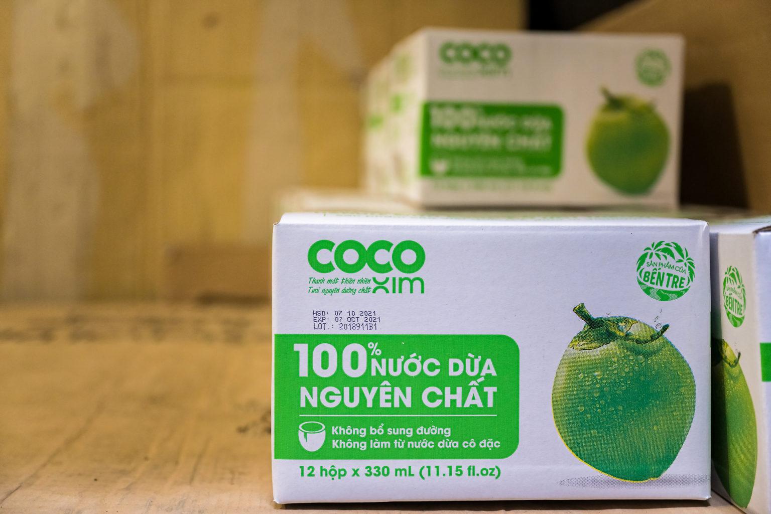 Cocoxim, le lait de coco importé par South Export Alliance