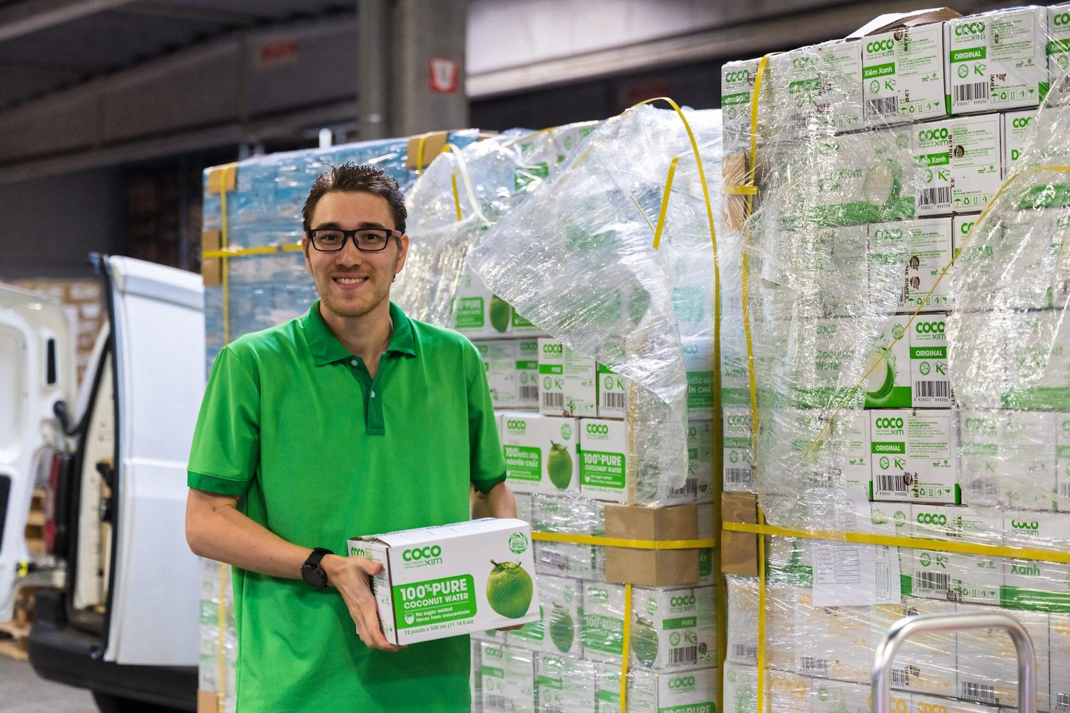 Jimmy, le bras droit de François Colonval chez South Export Alliance