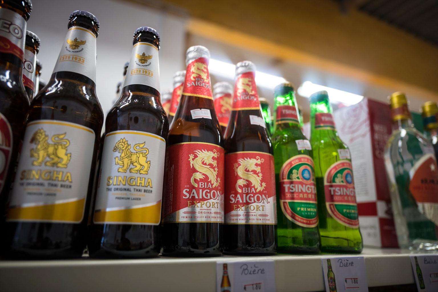 Bière Saïgon, un des produits phares importés par South Export Alliance