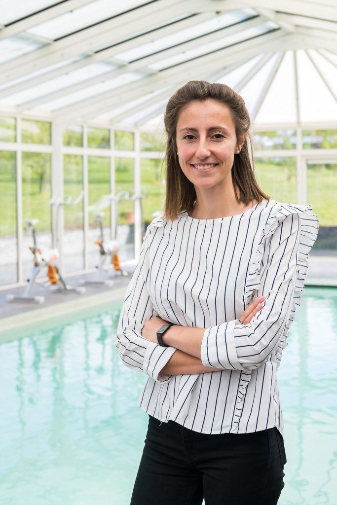 Déborah Lafalize, co-gérante de Fleraqua