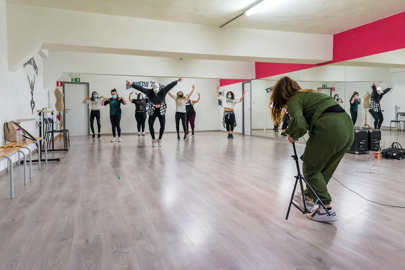 Enregistrement de vidéos pour Moveda'dance, Clara Sita
