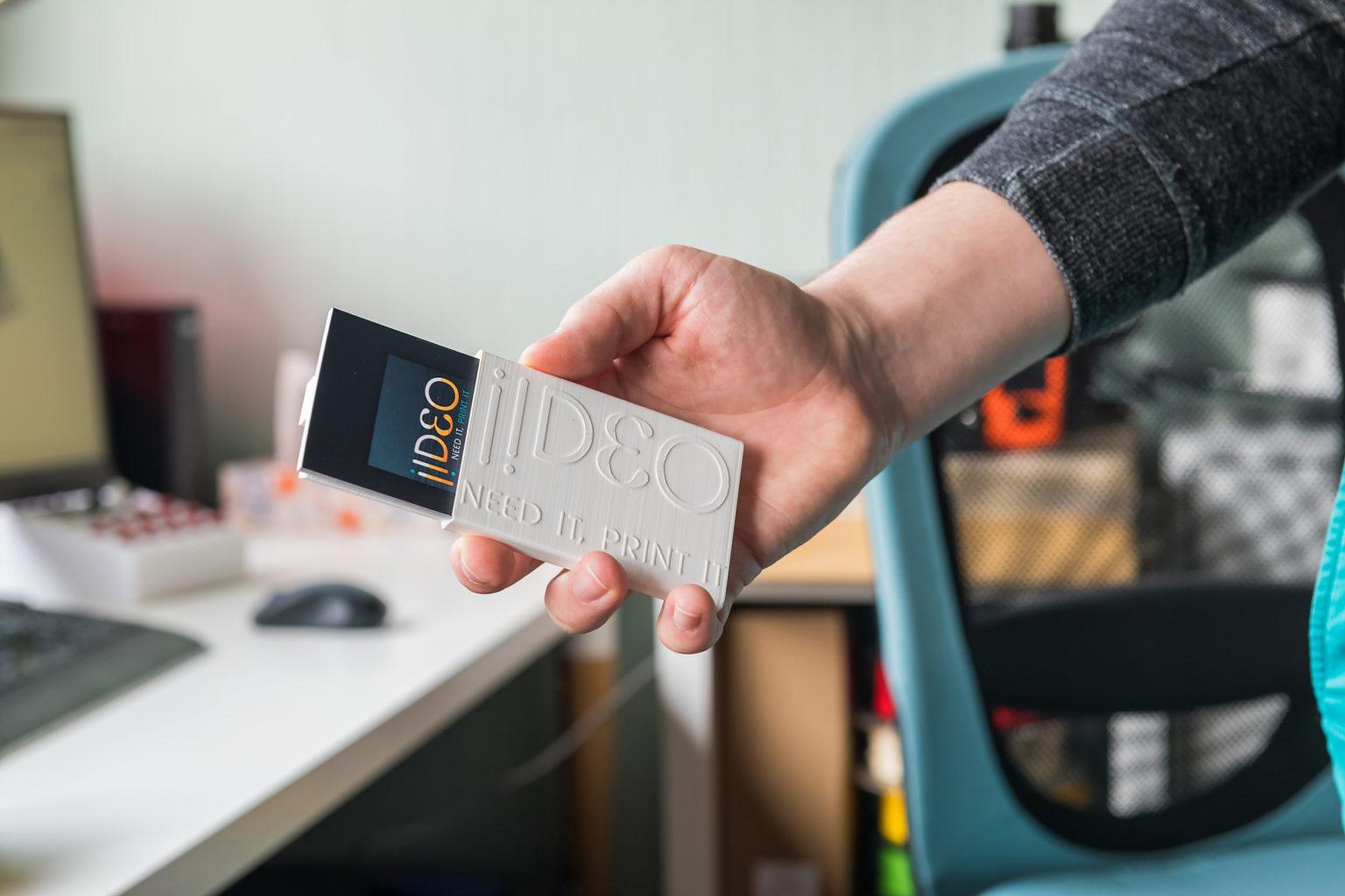 Porte-cartes imprimé en 3D par iideo