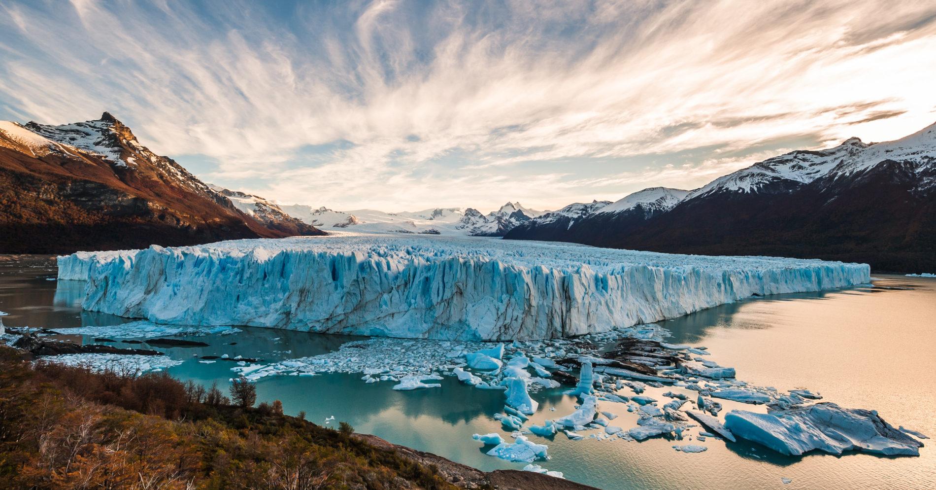 Glacier du Perito Moreno, vue d'ensemble