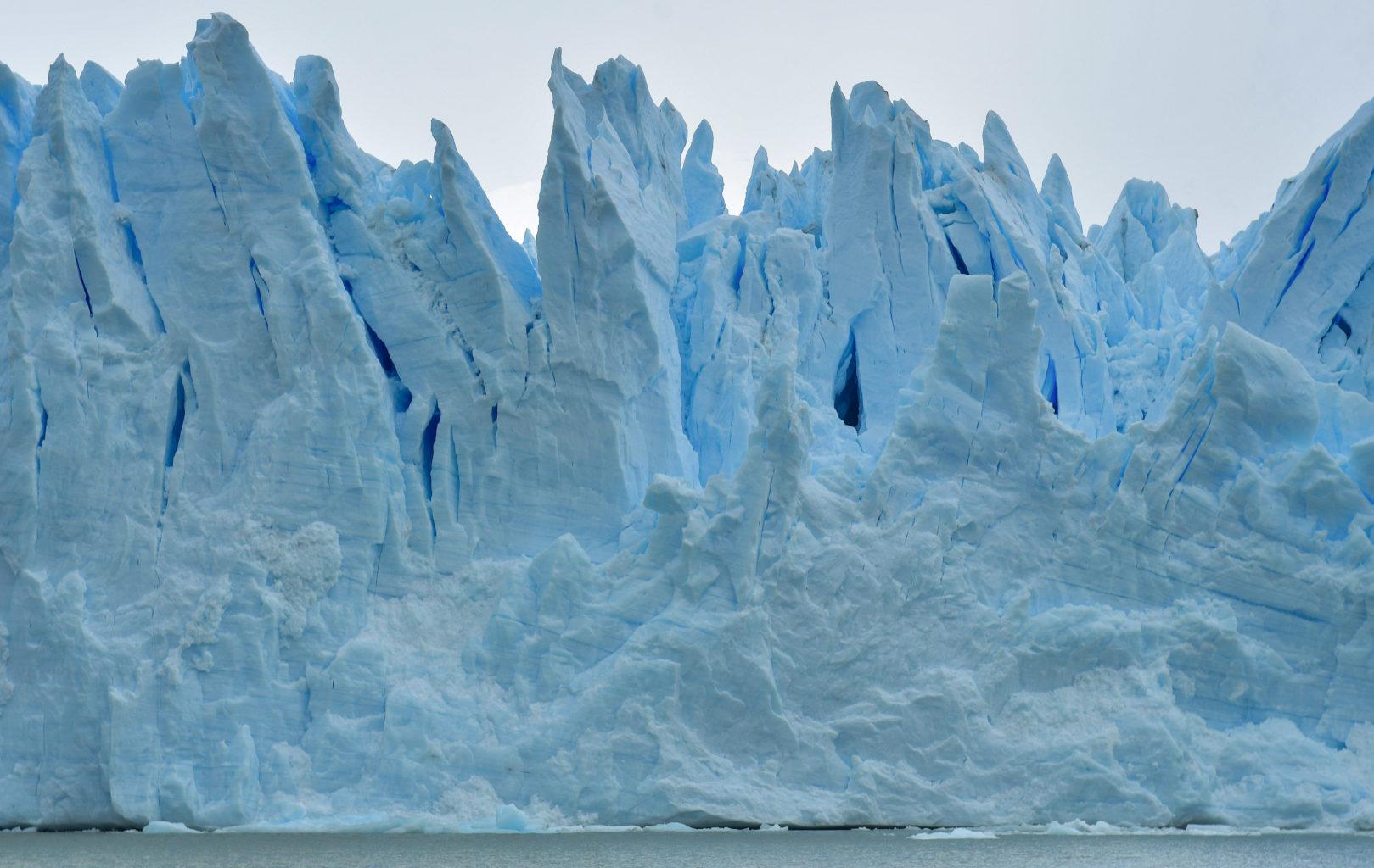 Vue détails Glacier Perito Moreno