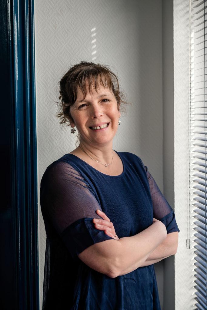 Marie-Joelle Goffioul, manager de Belga Translations