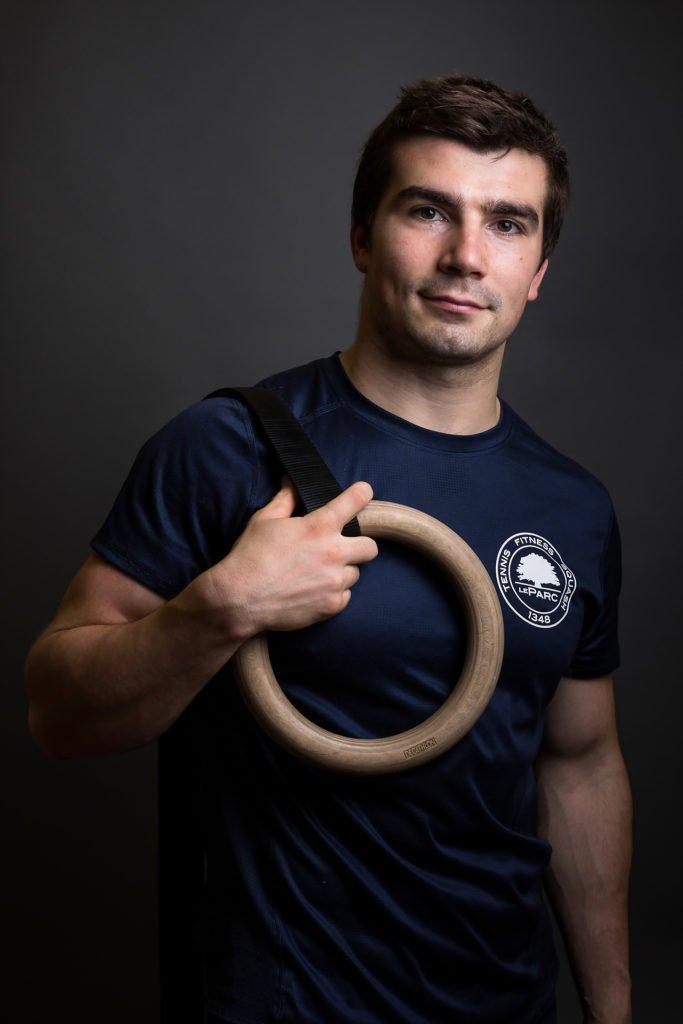 Portrait coach sportif, photo de profil entrepreneur, Aurore Delsoir photographe d'entreprise